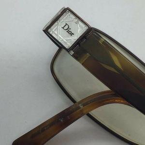 Christian Dior Vtg 1990s/y2k Eyeglasses Tortoise